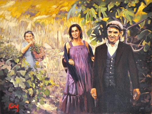 Artwork Sardinian family