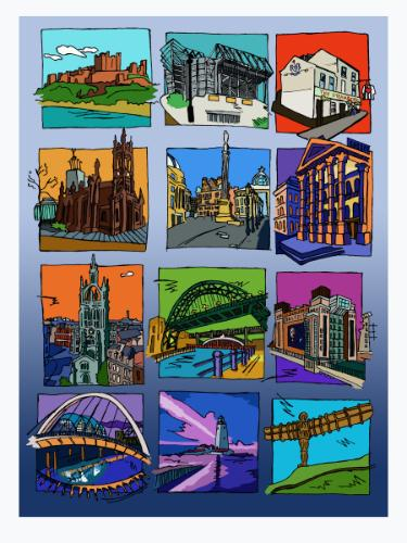 Artwork City Tales: Newcastle