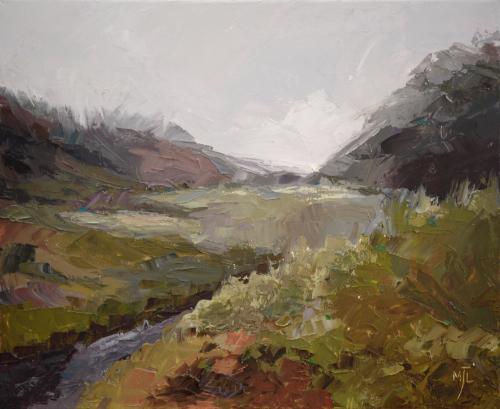 Artwork Scottish Valley IV