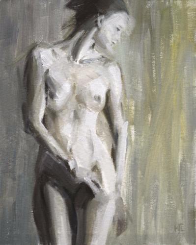 Artwork Standing Nude Study