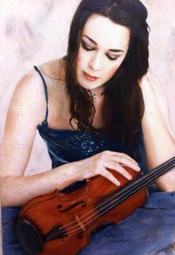 Artwork Girl with Violin