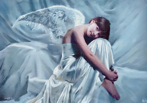 Artwork Contented Angel