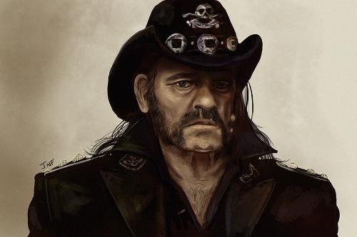 Artwork Lemmy, Motorhead print