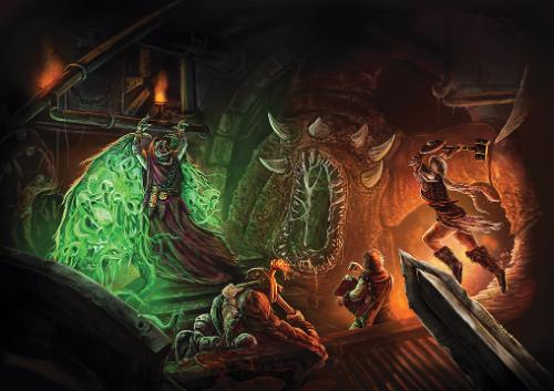 Artwork Fantasy Dungeon Adventure