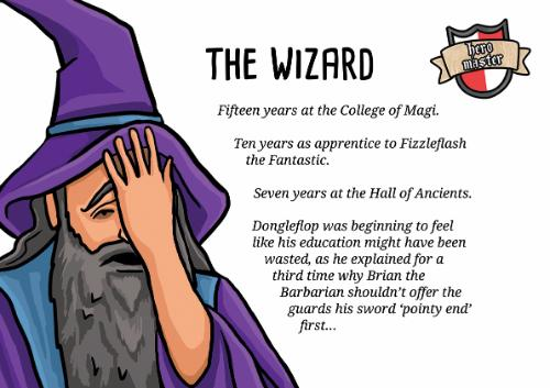 Artwork Fantasy humour - The Wizard