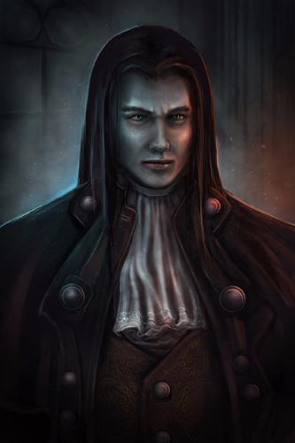 Artwork Male Vampire- Fantasy art