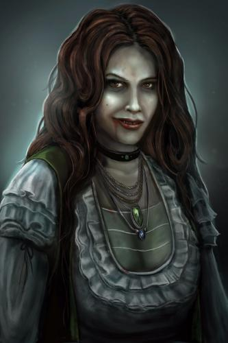 Artwork Female Vampire: Fantasy Art