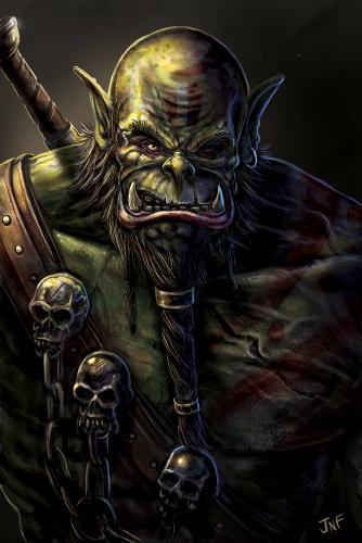 Artwork Orc portrait