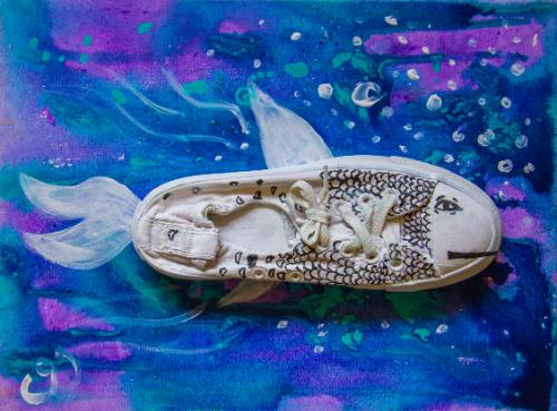 Artwork Shoe fish