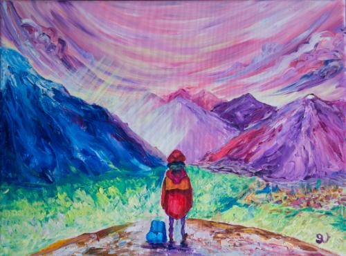 Ben Nevis by Olya - Use the 'Create Similar' button to commission an artist to create your own artwork.