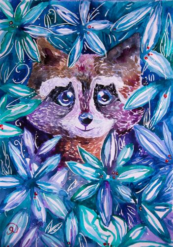 Artwork Raccoon
