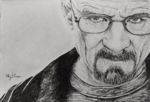 Artwork Walter White- Breaking Bad