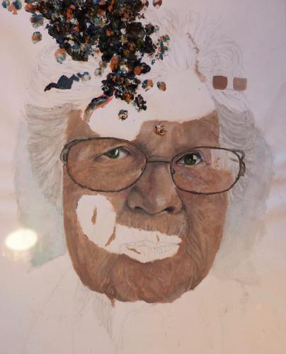 Artwork Elderly portrait