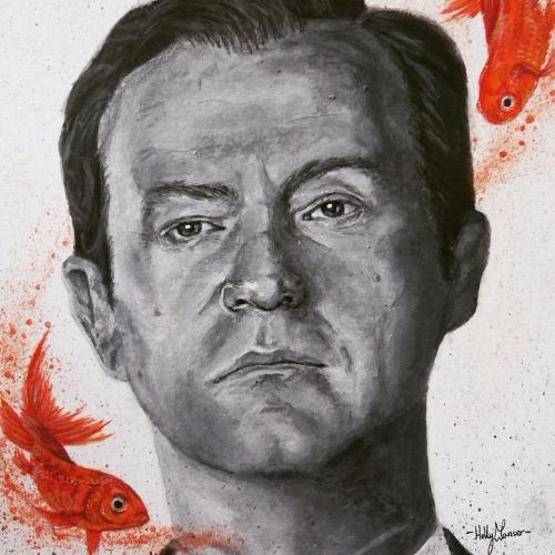 Artwork Mycroft Holmes and his Goldfish