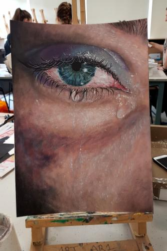 Artwork Personal painting of Eye