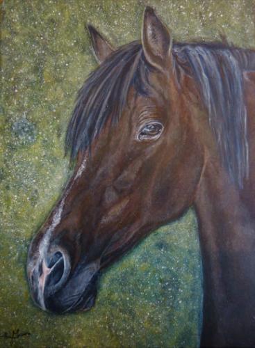 Artwork Izzy- New forest Pony