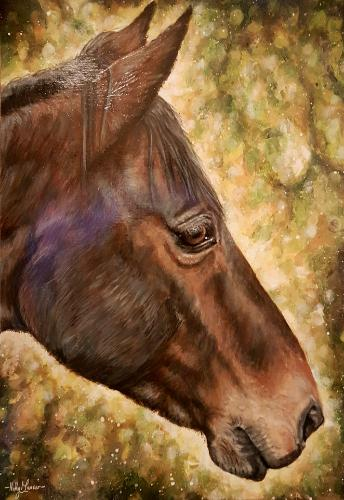 Artwork Horse Painting