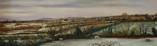 Artwork Towards the Clee,s