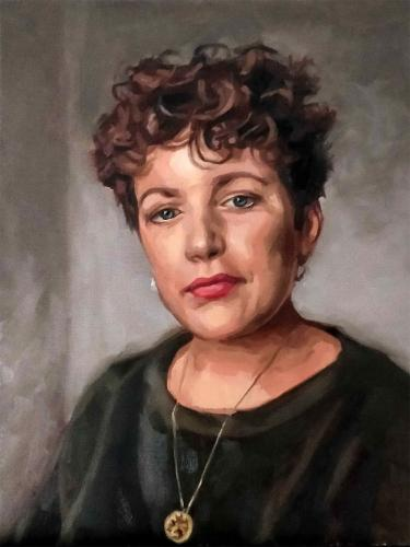 Artwork Portrait of Annie Mac