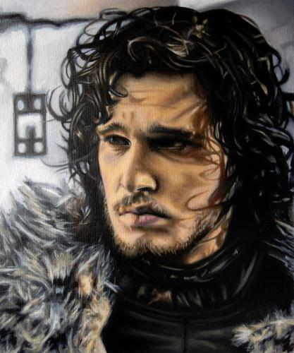 Artwork Jon Snow (Kit Harington - Game of Thrones)