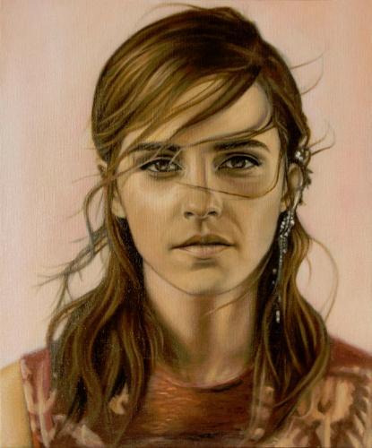 Artwork Emma Watson Study Portrait