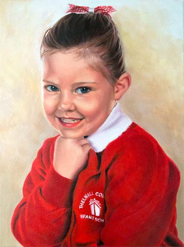 Artwork School Portrait