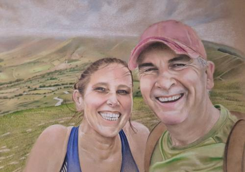 Emily and Paul by benjamin5 - Use the 'Create Similar' button to commission an artist to create your own artwork.