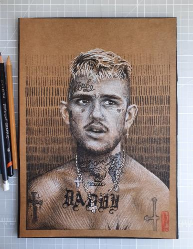 Artwork Rapper portrait