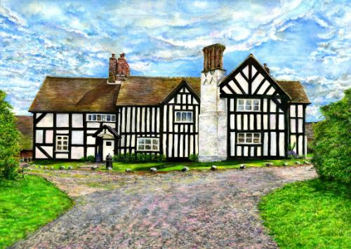 Shropshire Private commission via MyArtBrief by Susie - Use the 'Create Similar' button to commission an artist to create your own artwork.