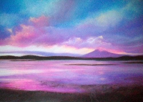 Artwork Fox Bay, Falklands (SOLD)