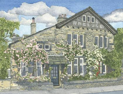 Artwork Smith House Lodge - the home of Yorkshire Parkin