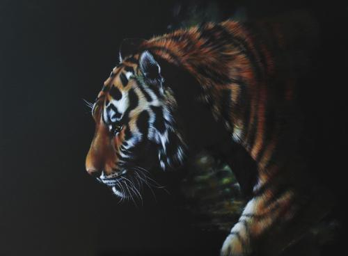 Artwork Prowling Tiger