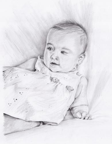 Artwork Baby Portrait