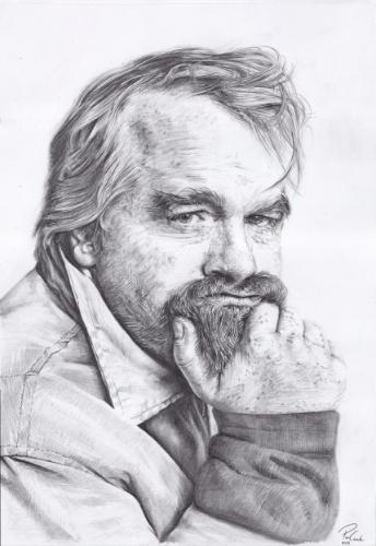 Artwork Phillip Seymour Hoffman
