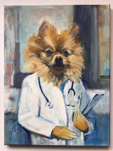 Artwork Dr Pomeranian