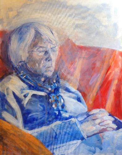 Artwork Mum resting