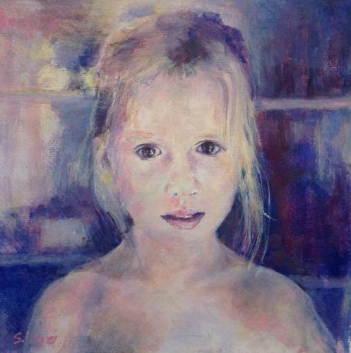 Artwork Impressionist portrait commission