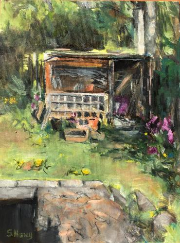 Artwork The Old Shed