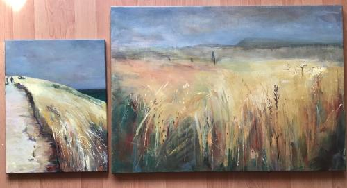 Artwork Commissioned pair
