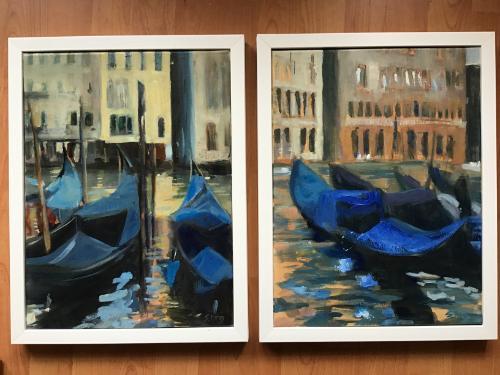 Artwork Pair of paintings, Venice