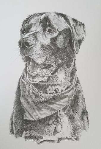 Artwork Memorial drawing