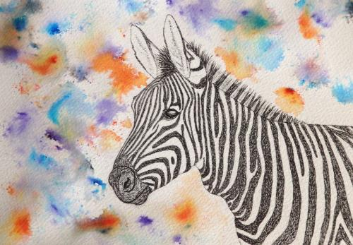 Artwork 'Zebra'