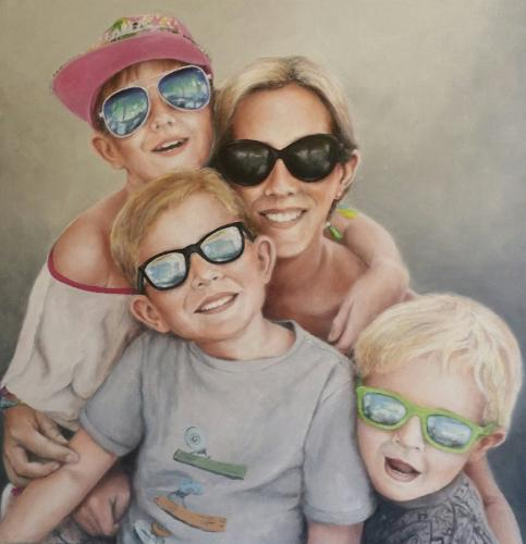Declan Family by Jarrod - Use the 'Create Similar' button to commission an artist to create your own artwork.