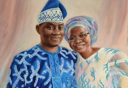 Artwork Julia's Parents