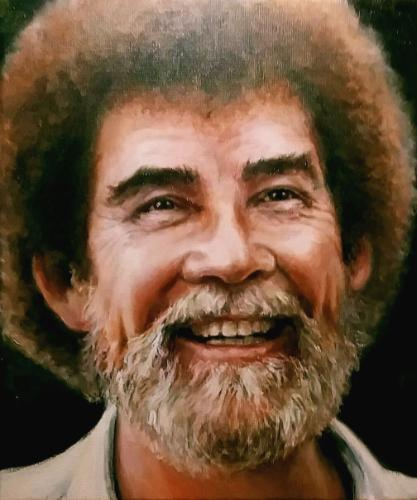 Artwork Bob Ross