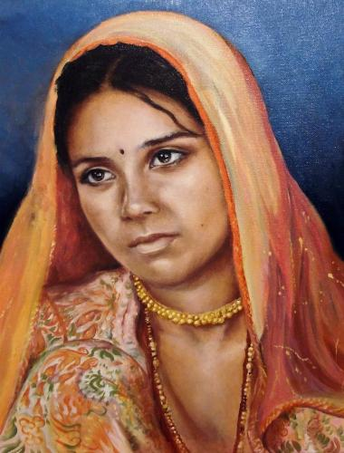 Artwork Indian Girl