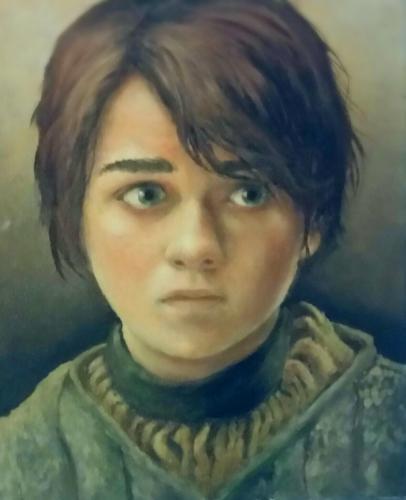 Artwork Arya Stark