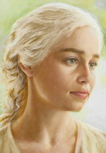 Artwork Daenerys Targaryen