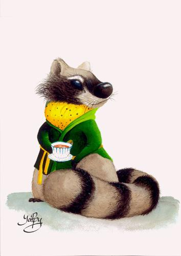 Artwork Mr. Raccoon