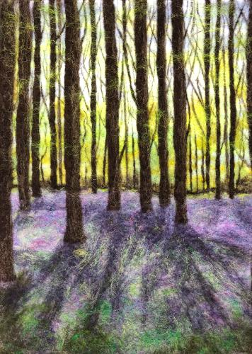 Artwork Bluebell Woods 6
